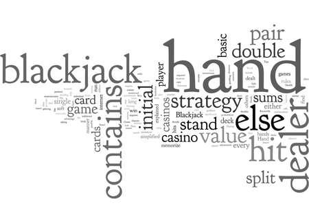 Blackjack Strategy Tips How to Win in Blackjack Illusztráció