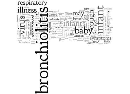 bronchitis in infant