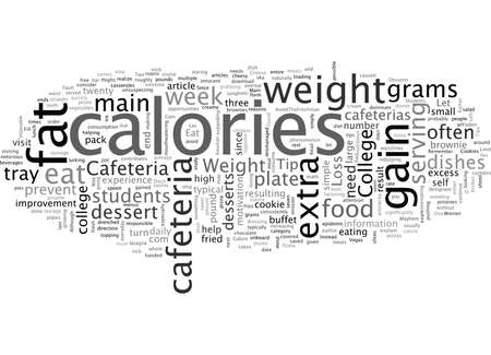 Cafeteria At Fault for College Weight Gain