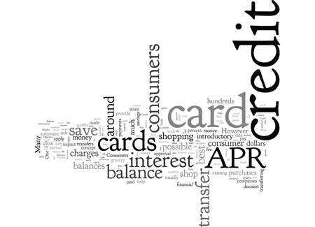 Best Credit Card Balance Transfer Rate It Pays To Shop Around