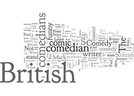 british comedians Banque d'images - 132216195