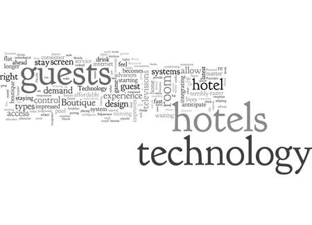 Boutique Hotels Go Hi tech