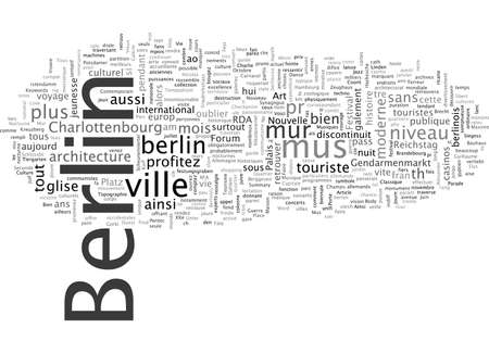 Berlin Capitale de la Vie Nocturne Illustration