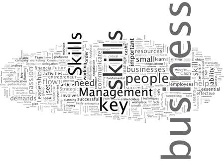 Business Skills You Need To Master