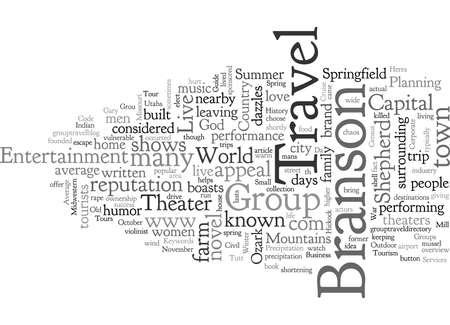 Branson Group Travel Guide Ilustração