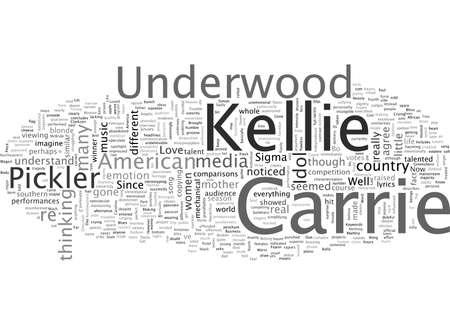 Carrie Underwood Vs Kellie Pickler