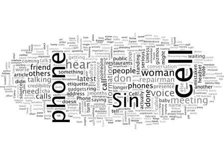 etichetta del cellulare sei un peccatore del cellulare gli errori del cellulare potrebbero rovinare la tua carriera Vettoriali
