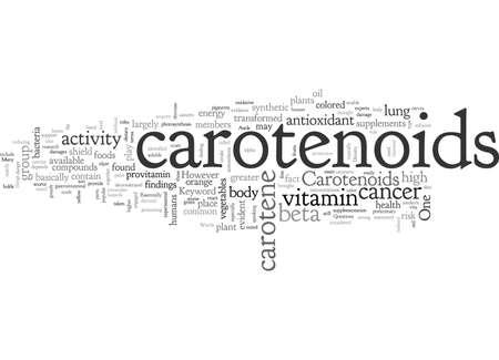 Carotenoids Reklamní fotografie - 132216357