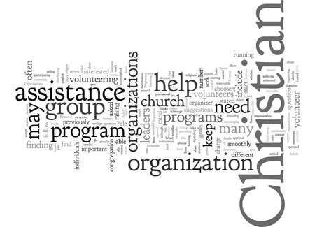 Christian Organizations and Programs What Is Expected Of You