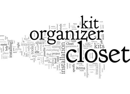 Closet Organizer Kits