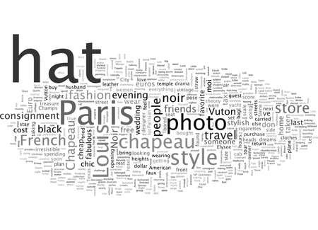 Chapeau NoirCheap Chic Travels