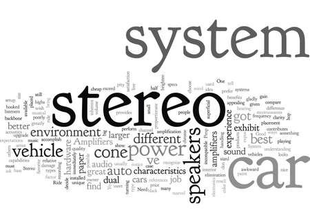 Système stéréo de voiture