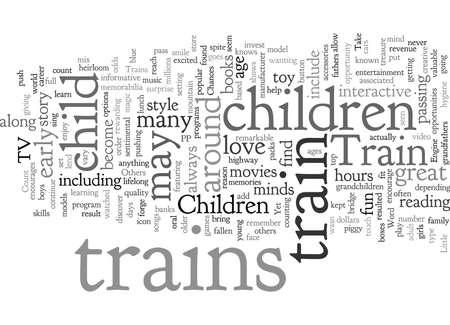 Children and Trains