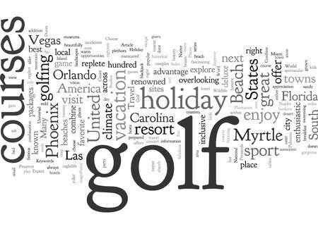 Combine Travel And Golf On Your Next Holiday