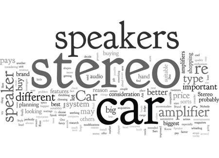 Car Stereo Speaker