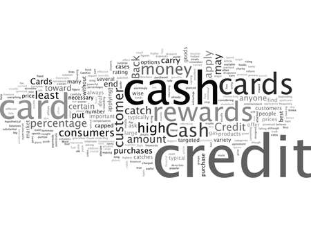 Cash Back Credit Cards Solutions With Catches 版權商用圖片 - 132216613