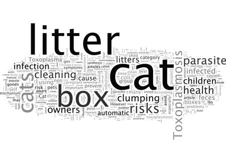 Cat Litter Box Health Considerations Stock fotó - 132216628