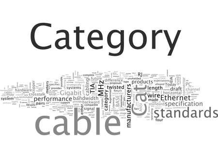 Category Cable A Category above the Rest