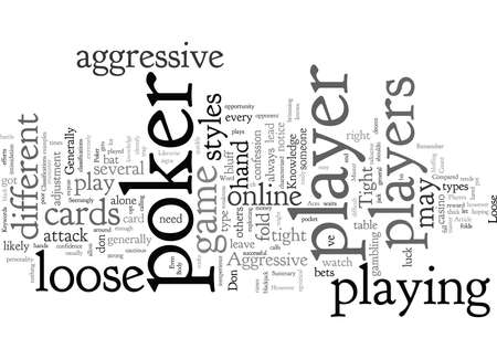 Classifications Of Poker Players
