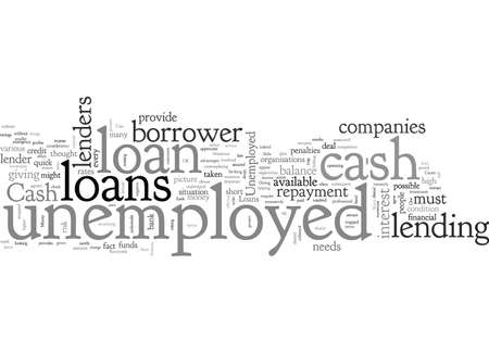 Cash Loans for the Unemployed Ready Money in Distress