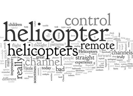 Channel Remote Control Helicopters Does It Get Any Better  イラスト・ベクター素材