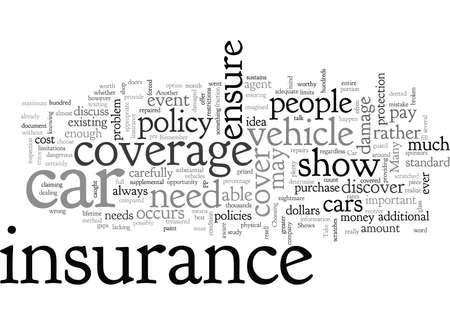 Car Shows and Insurance Ilustracje wektorowe