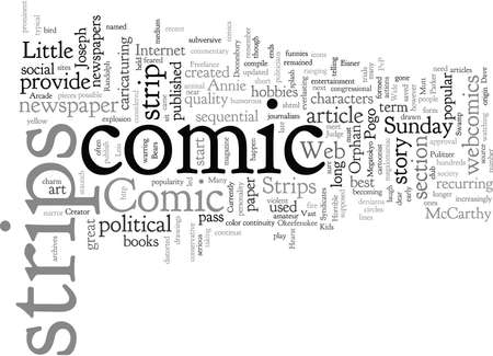Comic Strips and Their Vast Popularity Illustration
