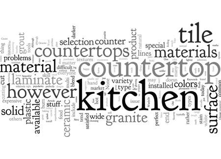 Choose Your New Kitchen Countertop WiselyOr Be Very Sorry Later