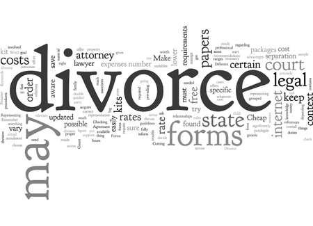 Cheap Divorce Vettoriali