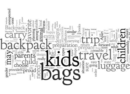 Choose Backpack For Kids When You Travel