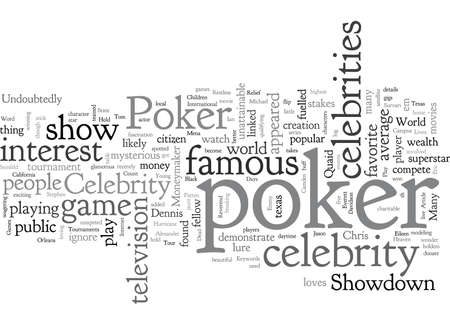Celebrity Poker Celebrities And The Games They Play