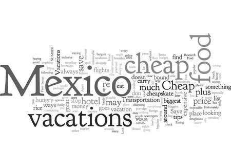 Cheap Mexico Vacations
