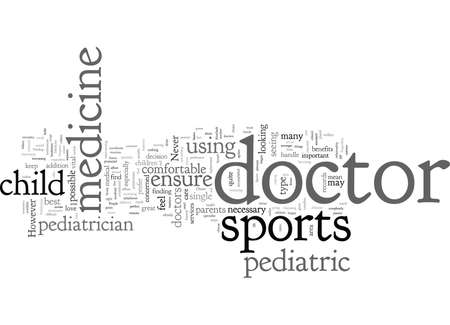 Choice Sports Medicine of Pediatrician Illustration