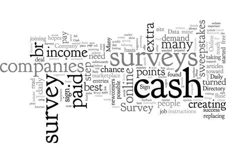 Cash Only Survey