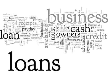 Cash Advances In Commerce