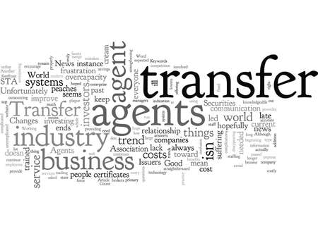 Changements dans le monde des agents de transfert Bonne nouvelle pour les émetteurs
