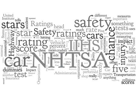 Car Safety Ratings What Do They Mean Illustration