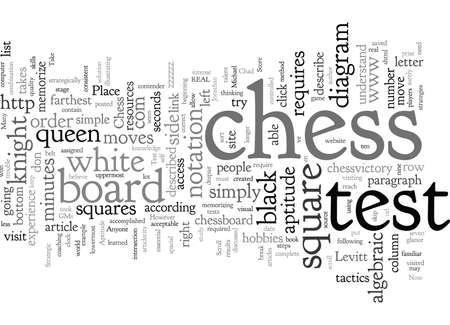 Chess Aptitude Test How Do You Score