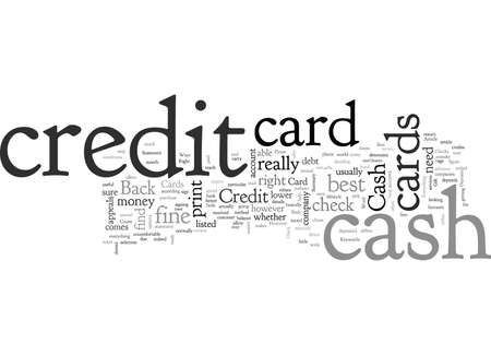 Cash Back Credit Card Is It Right For You