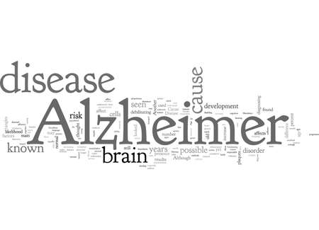 cause of alzheimers
