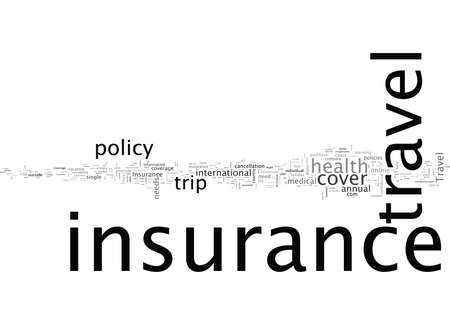 Check Your Travel Insurance With Worldwide Coverage Illusztráció