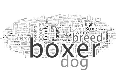Characteristics Of The Boxer dog Is A Boxer Right For You