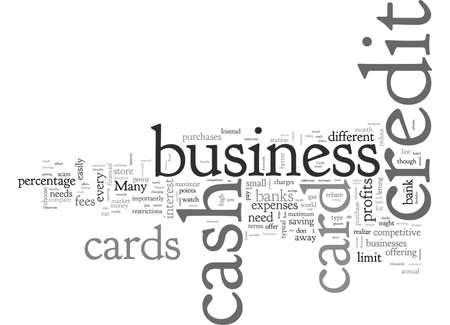 Cash Back Business Credit Cards