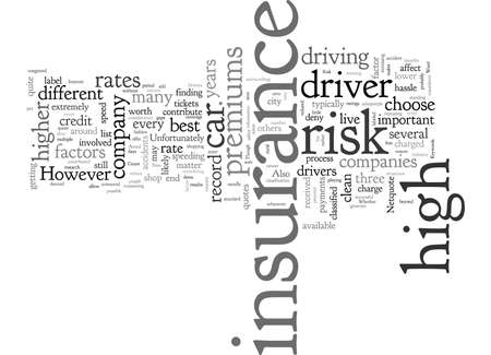 Car Insurance For High Risk Drivers
