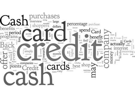 Cash Back Credit Card How it Works and Who It Benefits