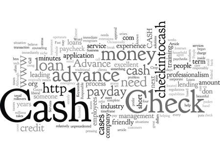 Check into Cash Cash Advance
