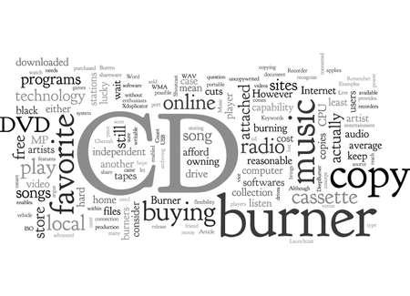 CD Burner The Day The Music Burns