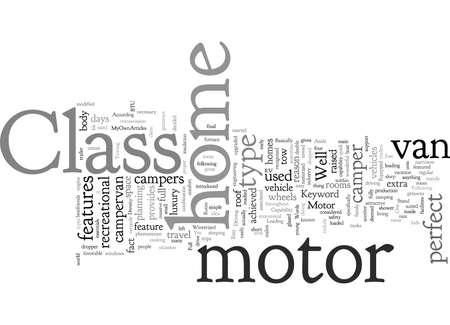 Class B Motor Home