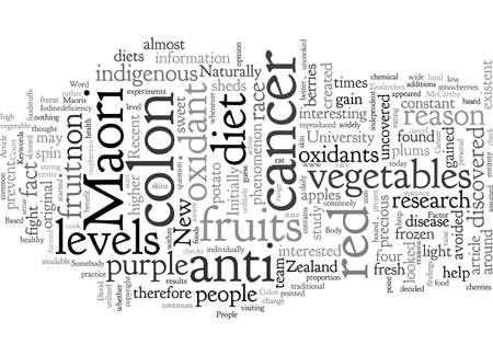 Colon Cancer The Maori Factor