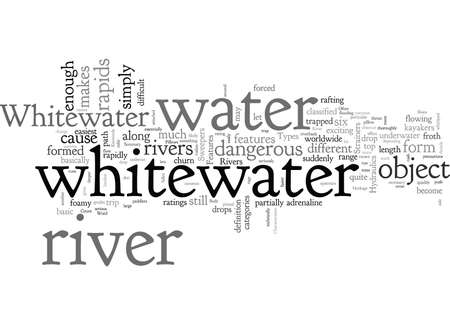Characteristics Of A Whitewater River